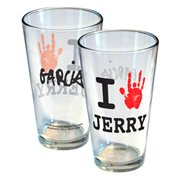 Garcia I Hand Jerry Pint Glass