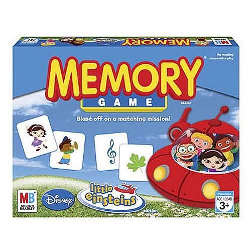 Little Einsteins Memory Game Entertainment Earth