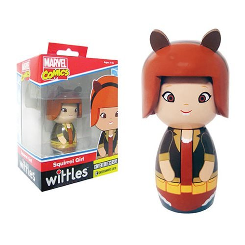 Squirrel Girl Wittles Wooden Doll - Convention Exclusive, Not Mint