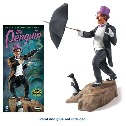 Batman 1966 TV Series Penguin 1:8 Scale Model Kit