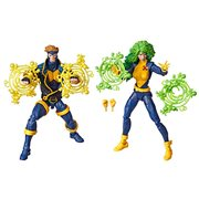Marvel Legends 90s Havok and Polaris 6-Inch Action Figures - Exclusive, Not Mint
