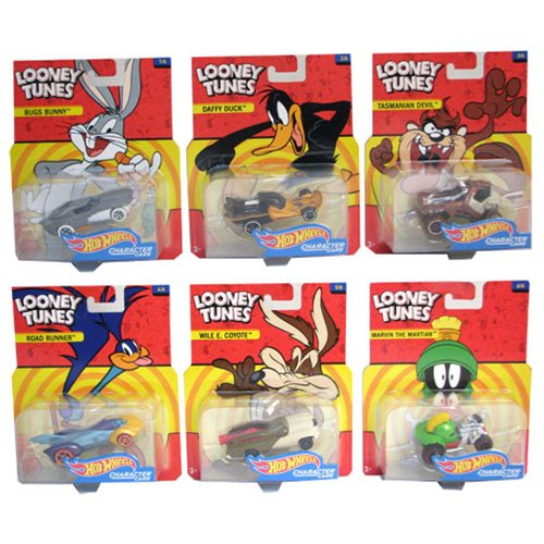 Hot Wheels Entertainment Character Car Wave 3 Vehicle Case