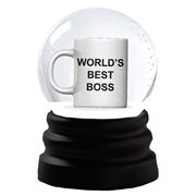 The Office World's Best Boss Snowglobe