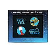 Mystery Science Theater 3000 Enamel Pin Set