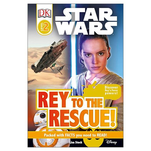 Star Wars Rey to the Rescue DK Readers 2 Hardcover Book