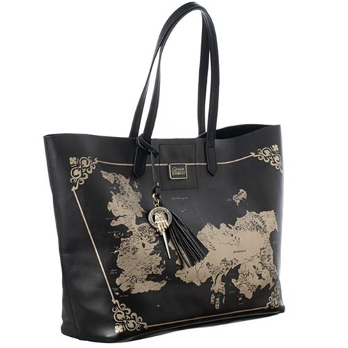 Game of Thrones Westoros World Map Tote Purse