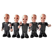 Doctor Who Silent Army Character Building Figure 5-Pack