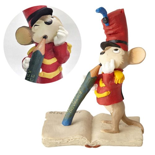 Walt Disney Archives Collection Dumbo Timothy Mouse Maquette Statue