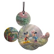 Disney Mickey Mouse and Minnie Mouse Sweetheart Bridge Hanging Acrylic Print