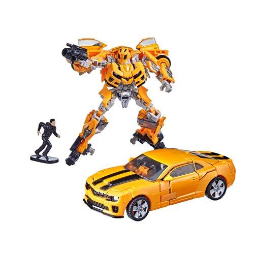 Transformers Studio Series Deluxe Bumblebee with Sam