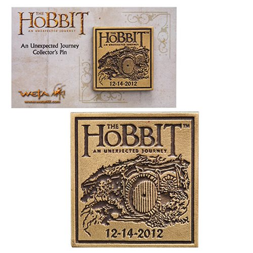 The Hobbit An Unexpected Journey Collectable Pin