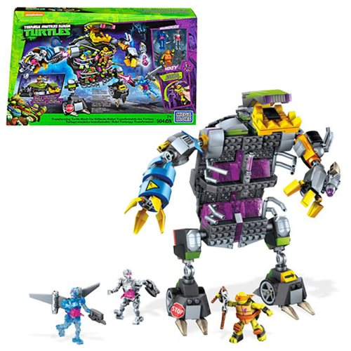 Mega Bloks Teenage Mutant Ninja Turtles Transforming Mech Playset