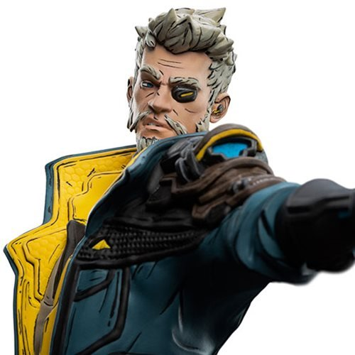Borderlands 3 Zane Figures of Fandom Statue