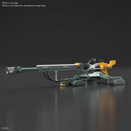 Neon Genesis Evangelion Evangelion Unit-00 DX Positron Cannon Set RG 1:144 Scale Model Kit