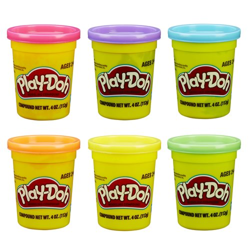 Play-Doh Single Can Assortment Wave 4