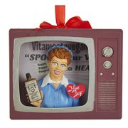 I Love Lucy Vitameatavegamin TV 4-Inch Ornament