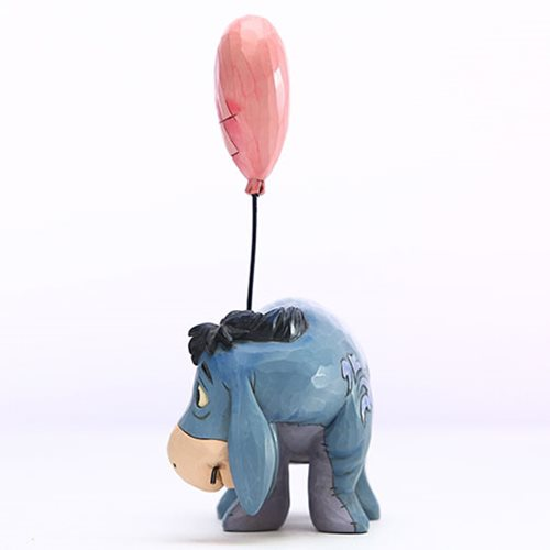 Disney Traditions Winnie the Pooh Eeyore with a Heart Balloon Love Floats by Jim Shore Statue