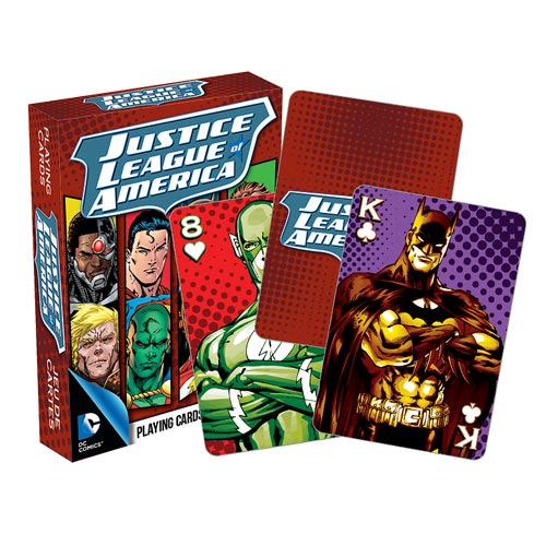Justice League of America Playing Cards