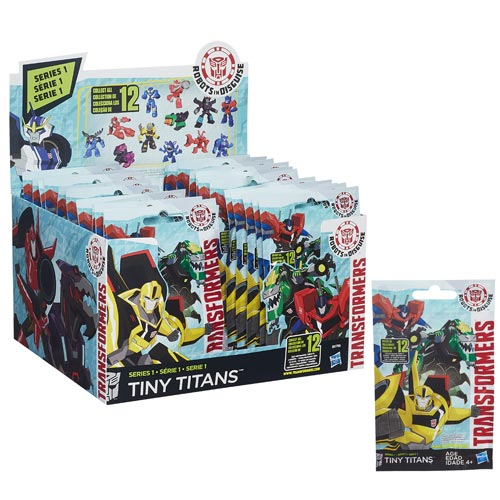 Transformers Robots in Disguise Tiny Titans Wave 1 Case