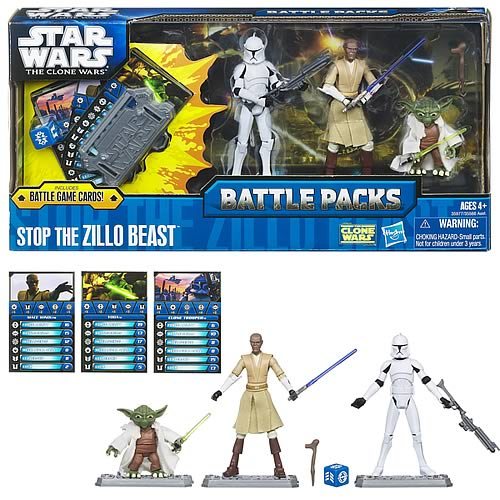 Star Wars Stop the Zillo Beast Action Figure Battle Pack