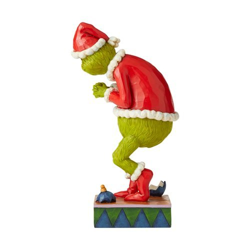 Dr. Seuss The Grinch Sneaky Grinch Statue by Jim Shore