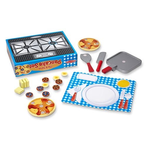 Flip and Serve Pancake Set Wooden Playset