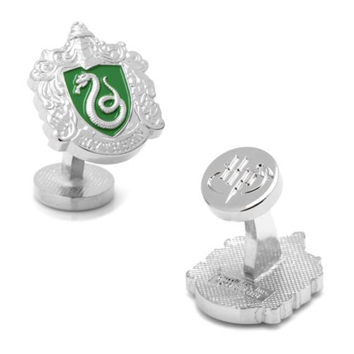 Harry Potter Slytherin Crest Cufflinks