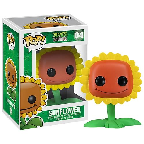 Plants vs. Zombies Sunflower Pop! Vinyl Figure