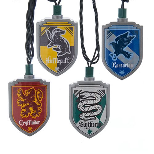 Harry Potter Hogwarts Houses Light Set