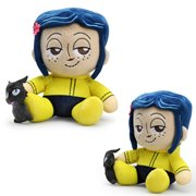 Coraline and the Cat Plush