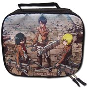 Attack on Titan Main Three Lunch Bag
