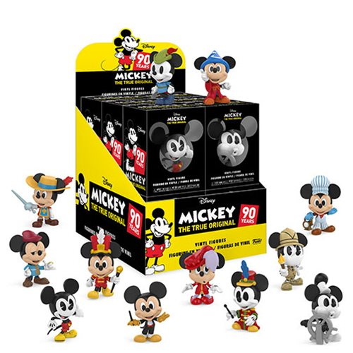 Mickey's 90th Mini Vinyl Figure Random 4-Pack