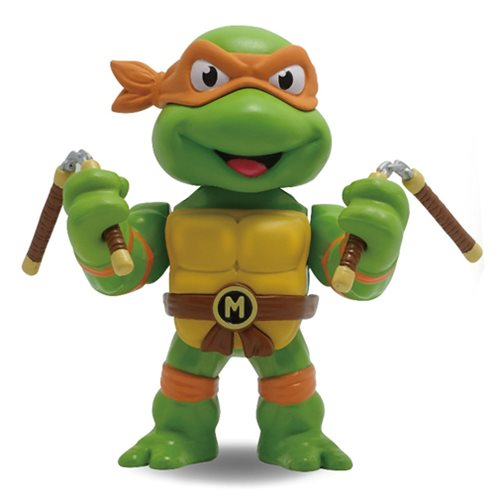 Teenage Mutant Ninja Turtles Michelangelo 4-Inch Metals Die-Cast Action Figure