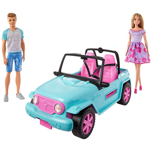 Barbie and Ken Vehicle Set