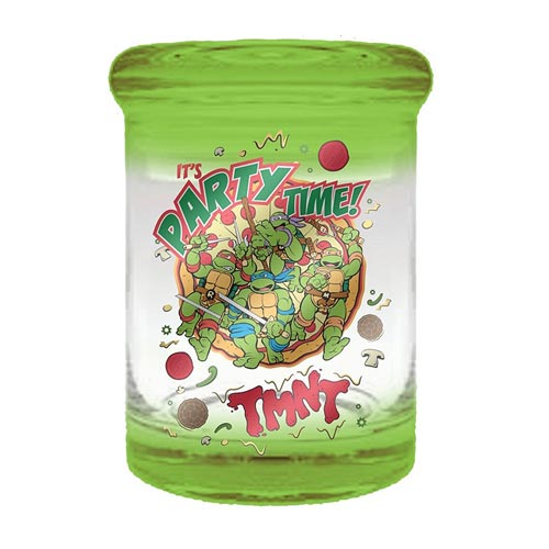 Teenage Mutant Ninja Turtles Party Time 3 oz. Green Apothecary Jar