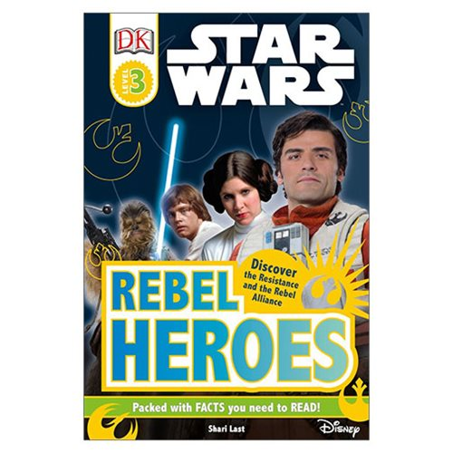 Star Wars Rebel Heroes DK Readers 3 Hardcover Book