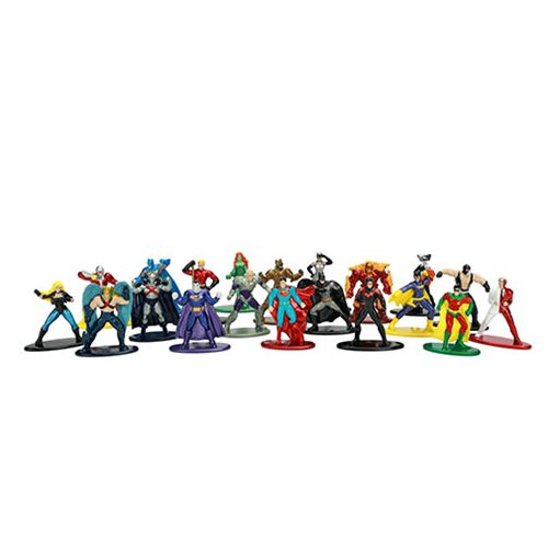 DC Comics Nano Metalfigs Die-Cast Metal Mini-Figures Wave 2 20-Pack