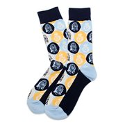 Star Wars R2-D2 and BB-8 Pop Art Socks