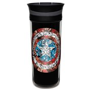 Captain America 16 oz. Insulated Travel Mug