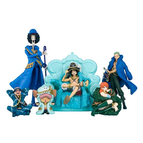 One Piece Vol.2 Tamashii Box Mini-Figure Case of 9