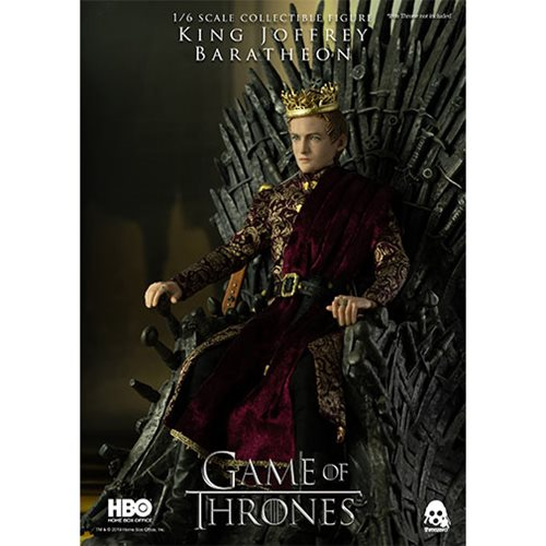 King of Thrones King Joffrey Baratheon 1:6 Scale Action Figure