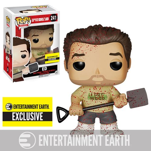 Shaun of the Dead Bloody Ed Pop! Vinyl Figure  - Entertainment Earth Exclusive