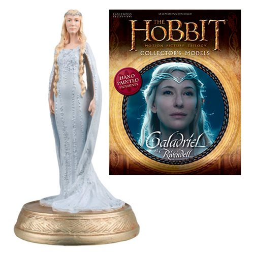 The Hobbit Galadriel At Rivendell Figure with Collector Magazine #17