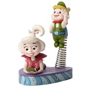 The Jetsons Hanna Barbera Jim Shore Judy and Elroy Jetson Statue