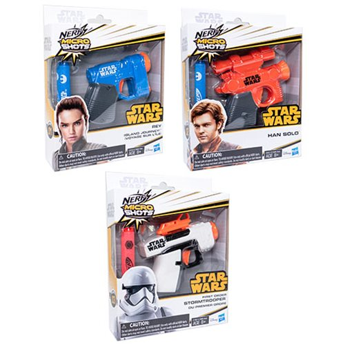 Star Wars Nerf Micro Shots Blasters Wave 1 Set