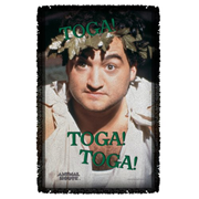 Animal House Toga Woven Tapestry Throw Blanket