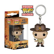 The Walking Dead Rick Grimes Pop! Vinyl Figure Key Chain