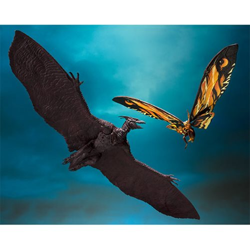 Godzilla: King of the Monsters Mothra and Rodan SH MonsterArts Action Figure Set