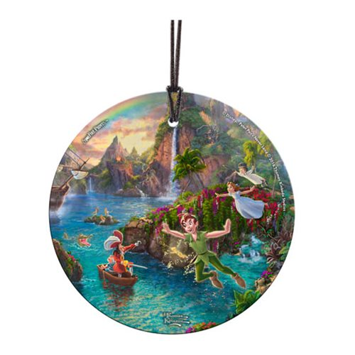 Peter Pan Neverland StarFire Prints Hanging Glass Ornament