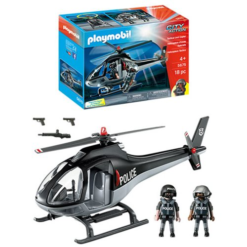 Playmobil 5675 Tactical Unit Helicopter